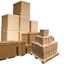 Corrugated cardboard products